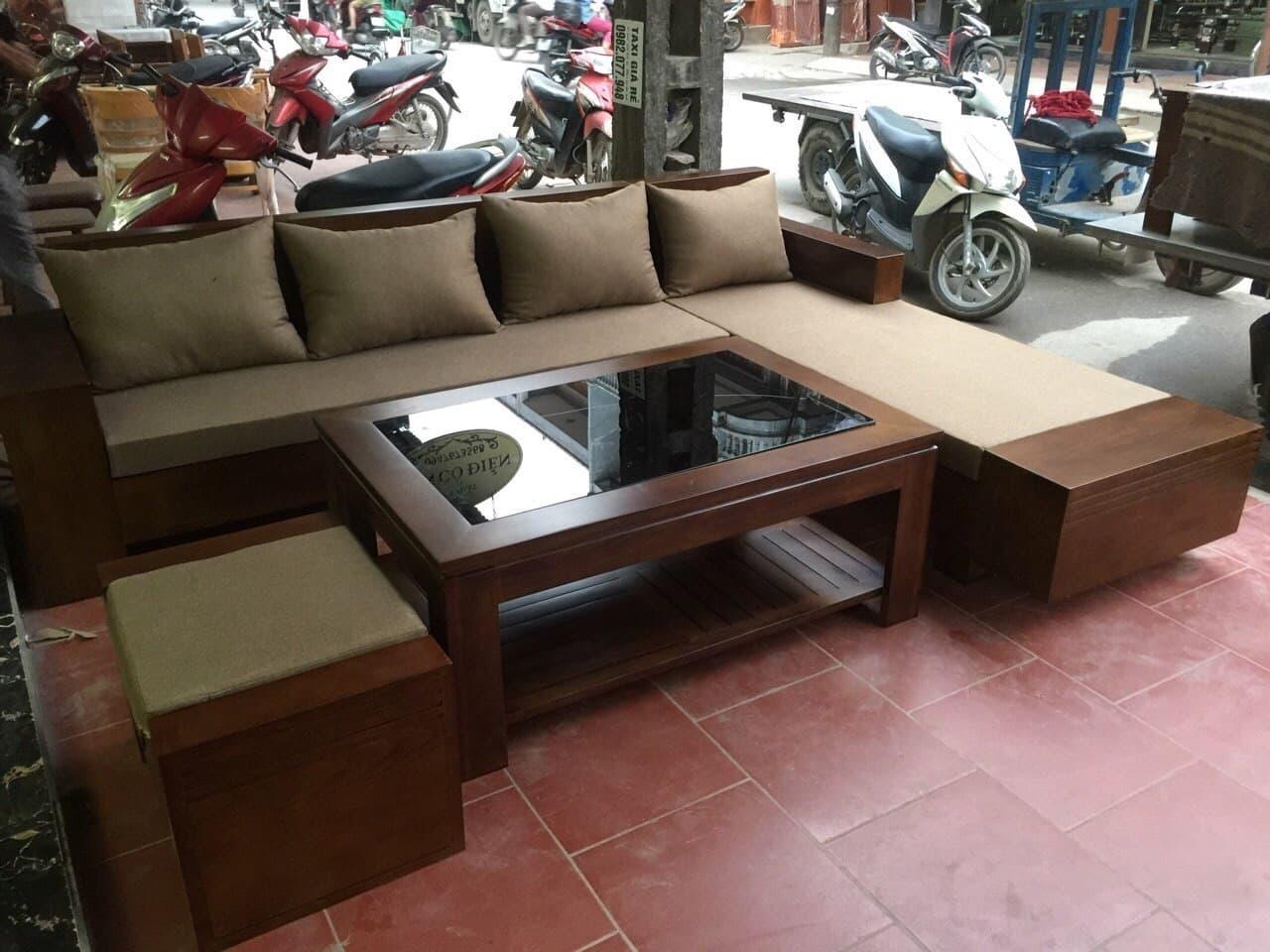 bàn ghế phòng khách tại Hà Nam