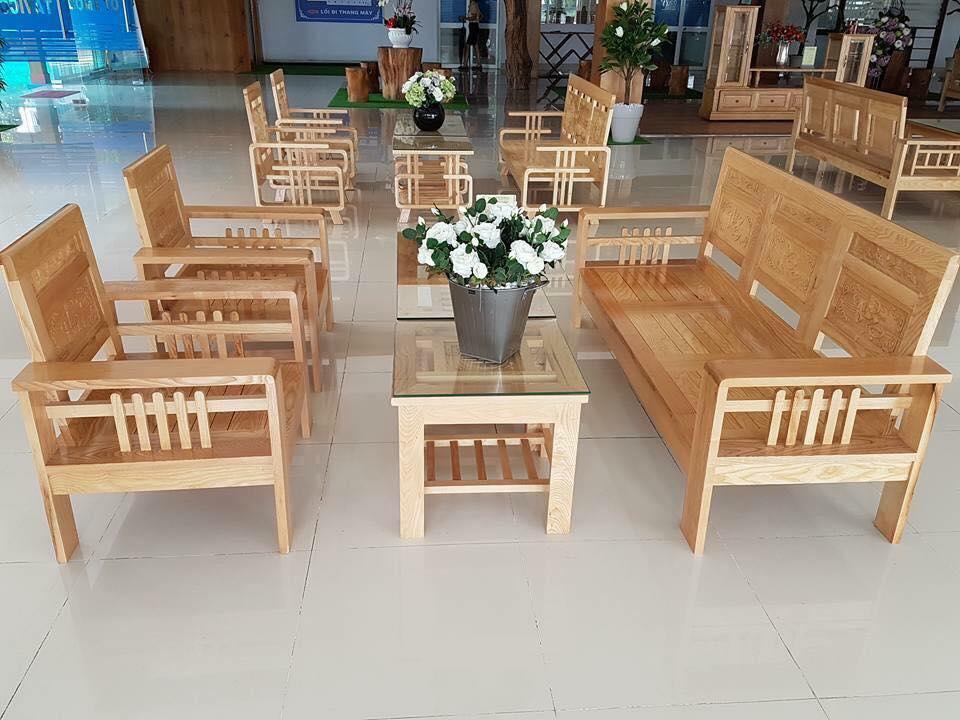 bàn ghế phòng khách tại quận thanh xuân