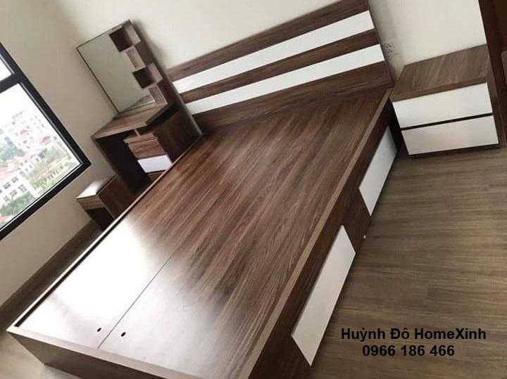 Giường nội thất phòng ngủ