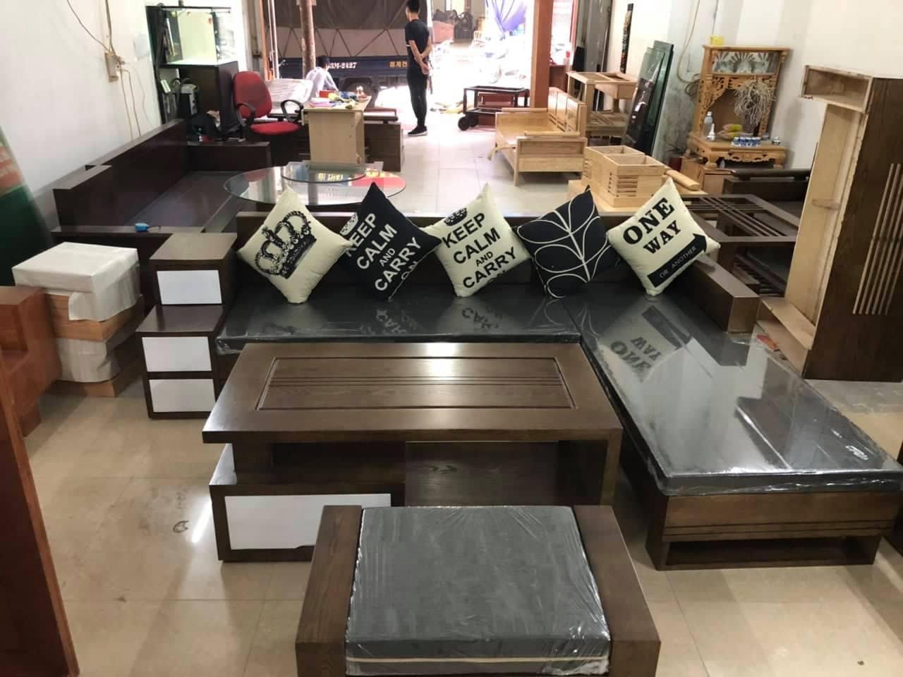 Bàn ghế phòng khách tại quận Hoàn Kiếm Hà Nội, địa chỉ và cách mua!