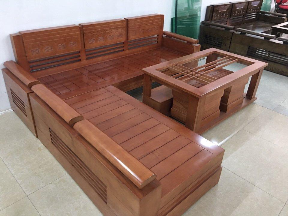 Bàn ghế phòng khách tại Hà Nội