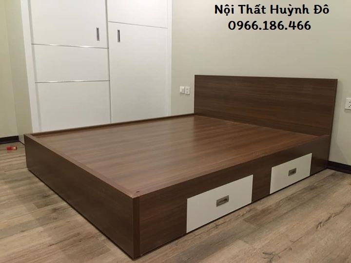 Giường gỗ công nghiệp CN03