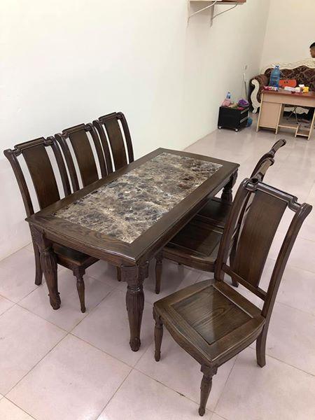 Bộ bàn ăn B.A 11