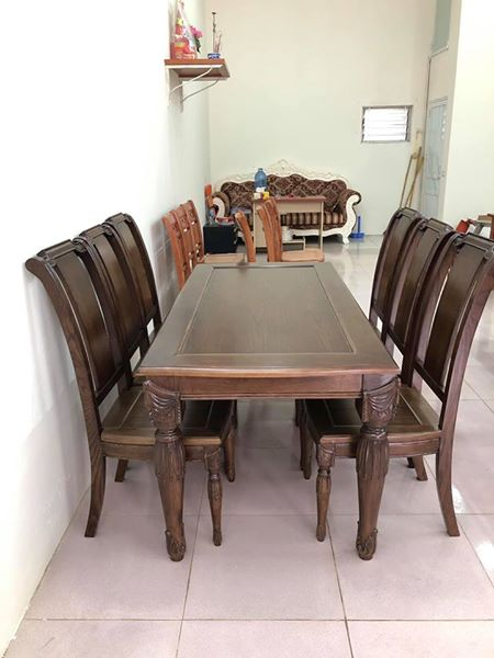 Bộ bàn ăn B.A 12
