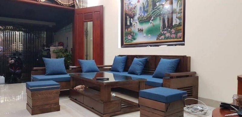Bộ Sofa Gỗ SFG 12