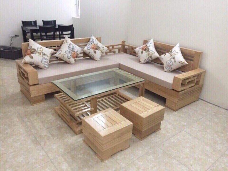 Bộ Sofa Gỗ SFG 08